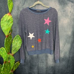 Wildfox Tops - 🆕Wildfox Star Scatter Knit Sweater XS